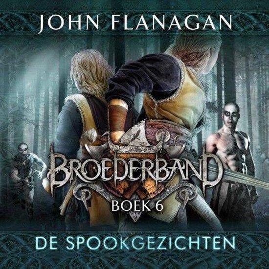 Boek cover De spookgezichten van John Flanagan (Onbekend)