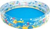 Bestway - Deep Dive 3-Ring Kinderzwembad - 183 x 33 cm - rond