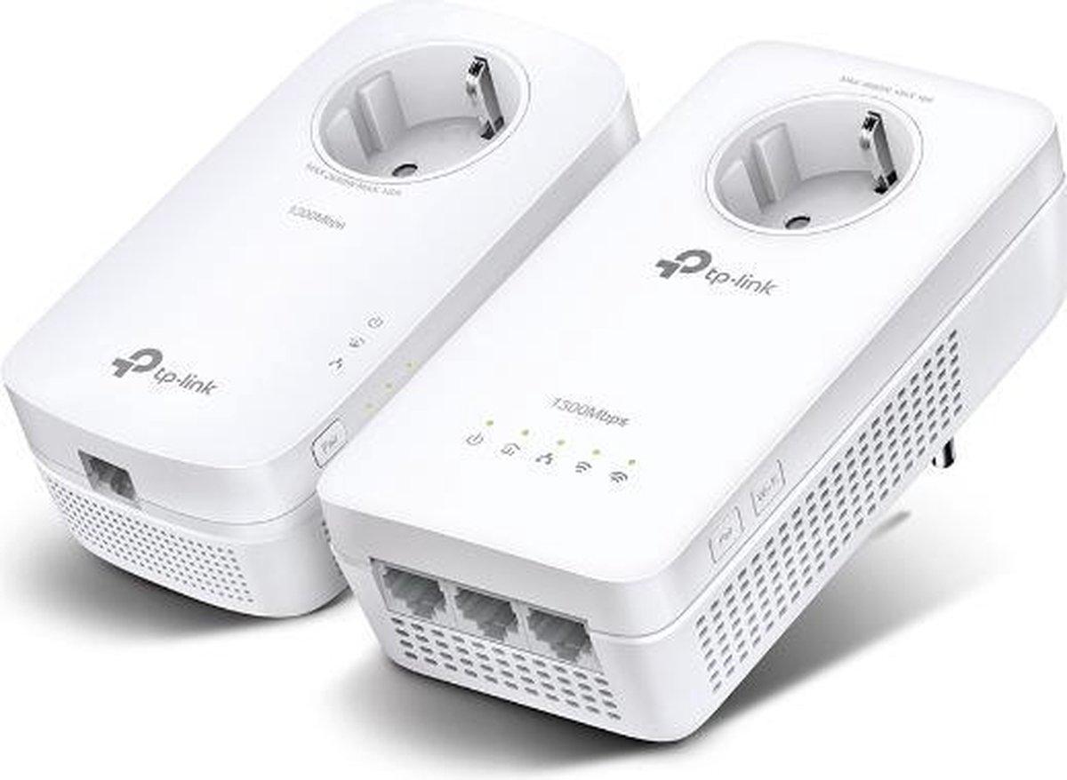 TP-Link TL-WPA8631P - Powerline-adapter - AC - 1300 Mpbs / 2-pack