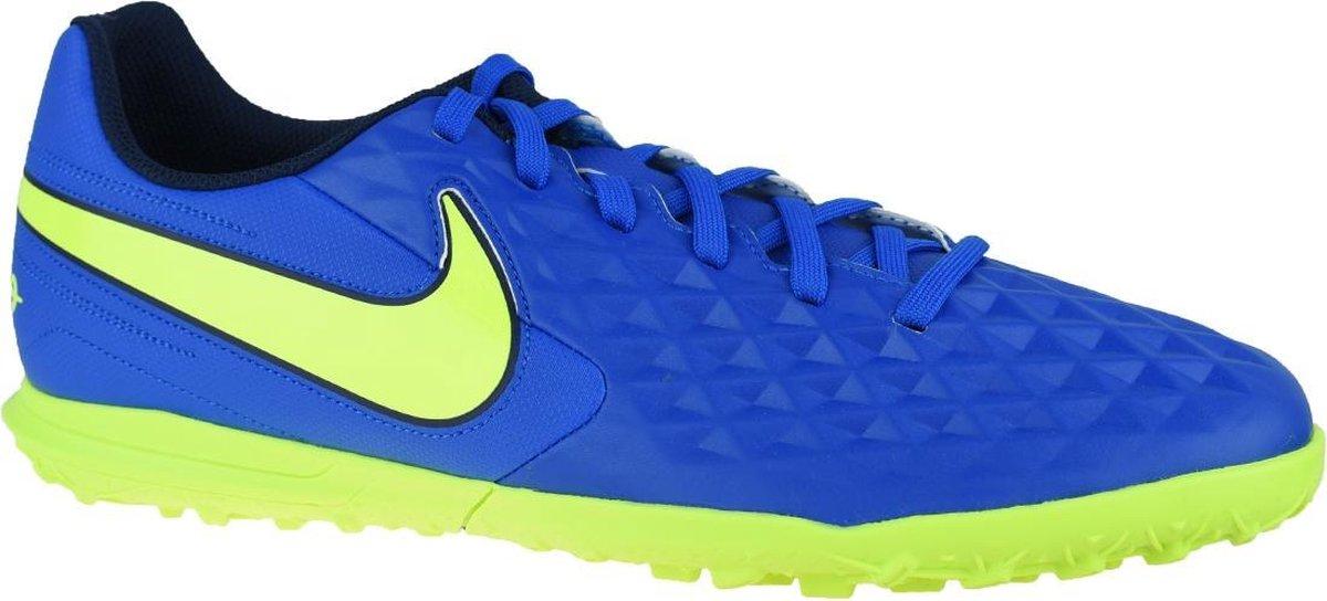 Nike Tiempo Legend 8 Club TF AT6109 474, Mannen, Blauw, Kunstgrasschoenen, maat: 43 EU