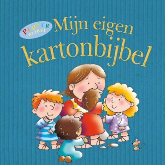 Cover van het boek 'Mijn eigen kartonbijbel'
