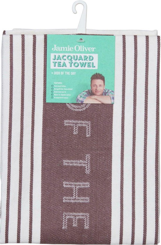 Jamie Oliver - Theedoek - Dish of the Day -