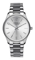 Orphelia Fashion OF714900 - Horloge - RVS - Zilverkleurig - 30 mm