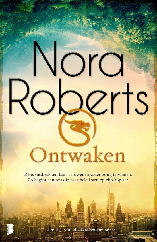 Boek cover Drakenhart 1 - Ontwaken van Nora Roberts (Paperback)
