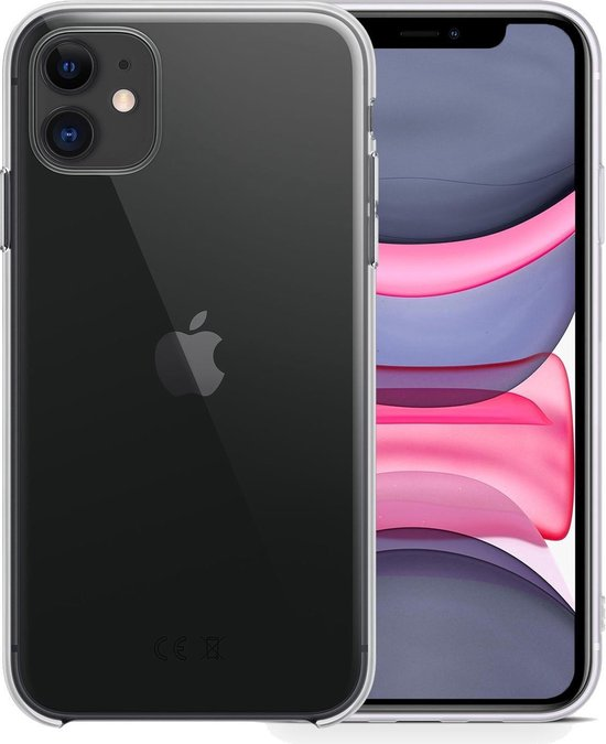 iPhone 11 Hoesje Transparant Case Hoes Silicone Cover