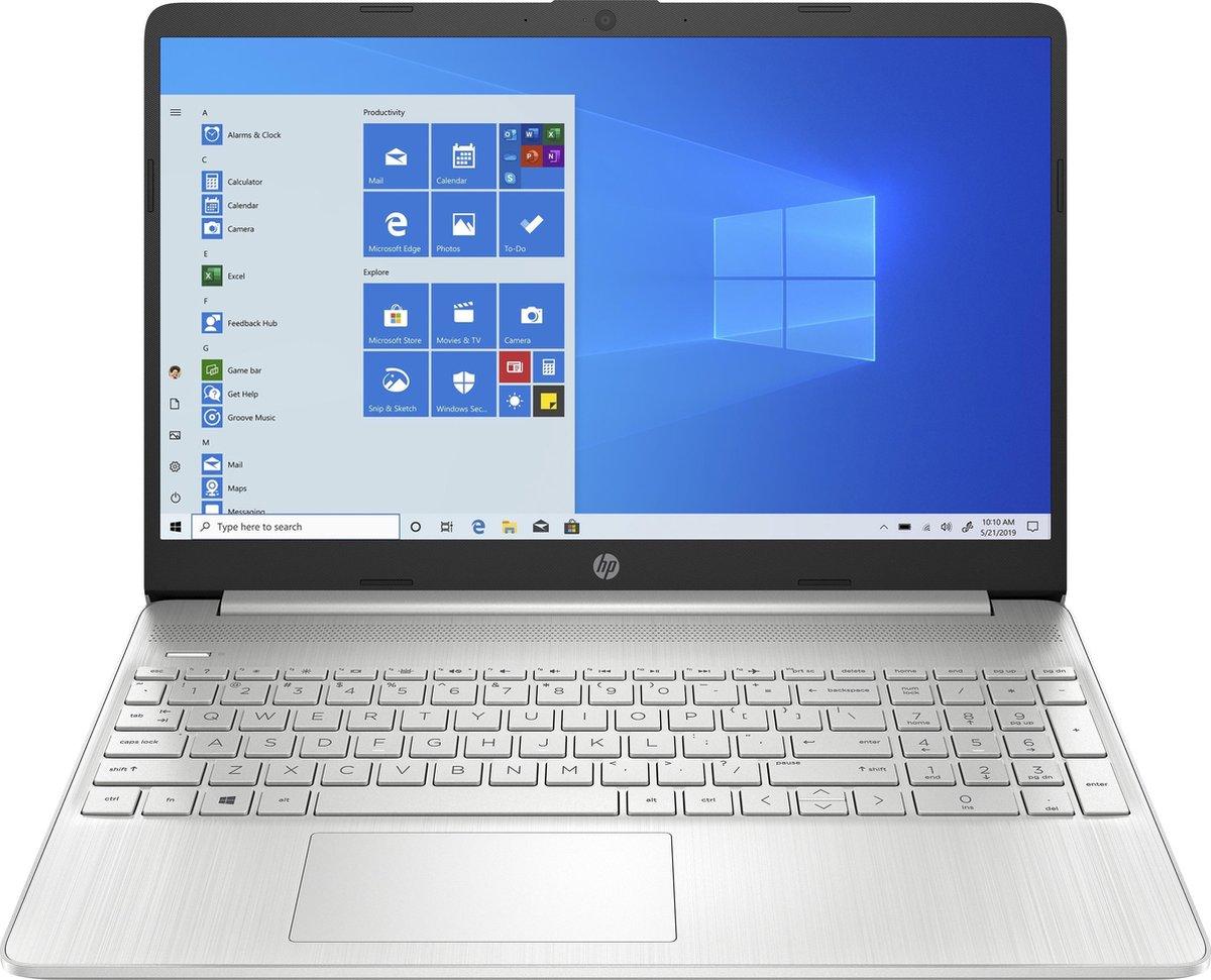 "HP 15s-eq1125nd DDR4-SDRAM Notebook 39,6 cm (15.6"") 1920 x 1080 Pixels AMD Ryzen 3 8 GB 256 GB SSD Wi-Fi 5 (802.11ac) Windows 10 Home S Zilver"