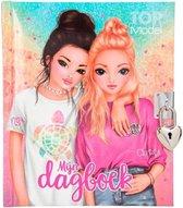 Top Model Dagboek Meisjes 18,5 X 15,5 Cm Karton 4-delig