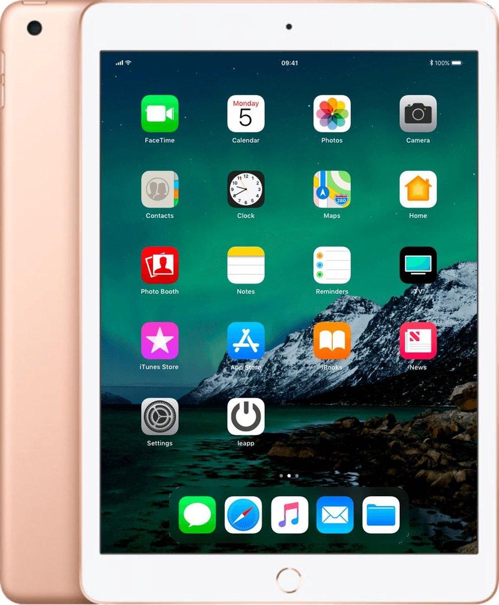 Apple iPad 2019 - 128GB - Wi-Fi + 4G - Goud - A-grade