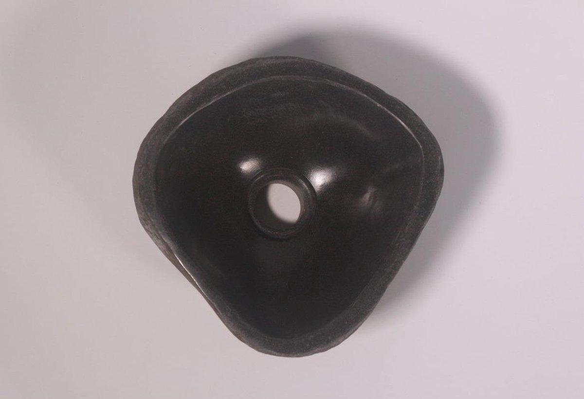 Natuurstenen waskom | DEVI-W21-262 | 26x25x12