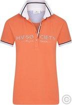 HV Polo Dames Poloshirt Society, Oranje