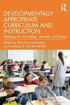 Omslag Developmentally Appropriate Curriculum and Instruction
