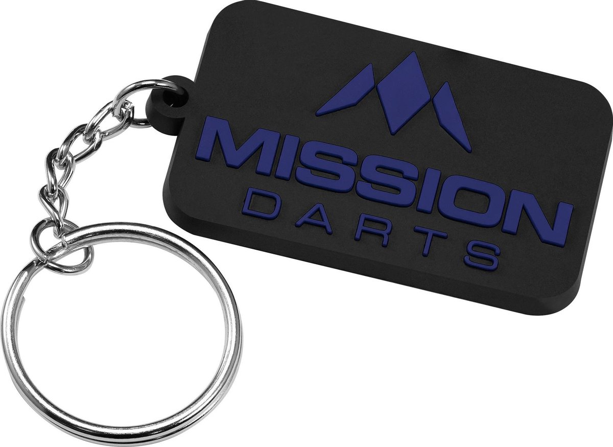 Mission Logo Keyring - Grijs