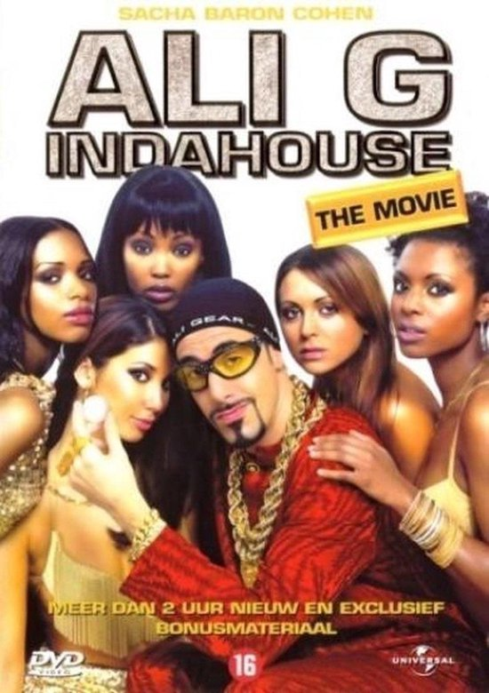 Cover van de film 'Ali G - In Da House The Movie'