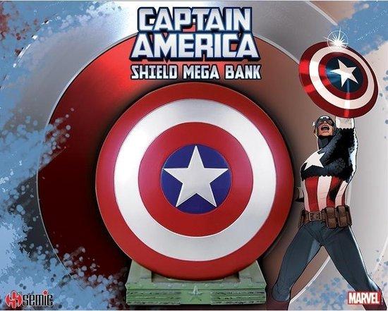 MARVEL - Cap - Pettain America - Mega Spaarpot Shield - 25cm