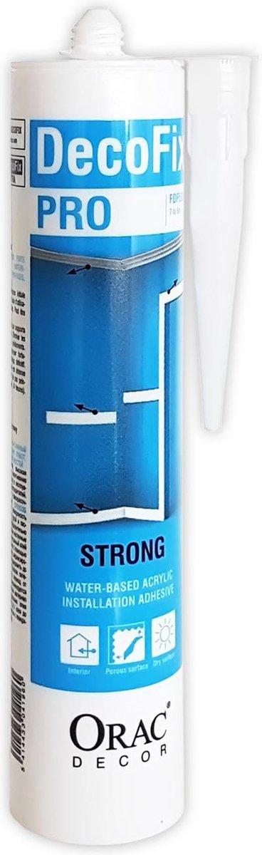 DecoFix Pro Origineel Orac Decor FDP500 extra sterke montagelijm voor binnenshuis acryllijm op water