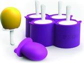 Zoku Icelolly Pop Maker giant, 4 stuks Paars