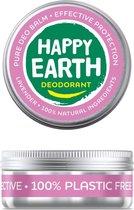 Happy Earth Pure Deodorant Balm Lavender 45 gr - 100% natuurlijk