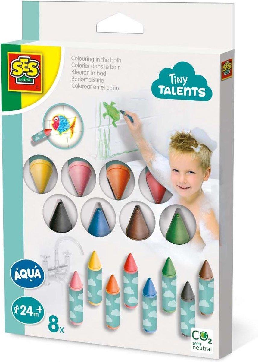 Kleuren in bad 8 pack - Tiny talents