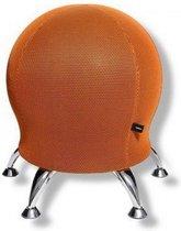 Fitness Kruk - Stof - Oranje - Topstar Sitness 5