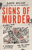 Omslag Signs of Murder