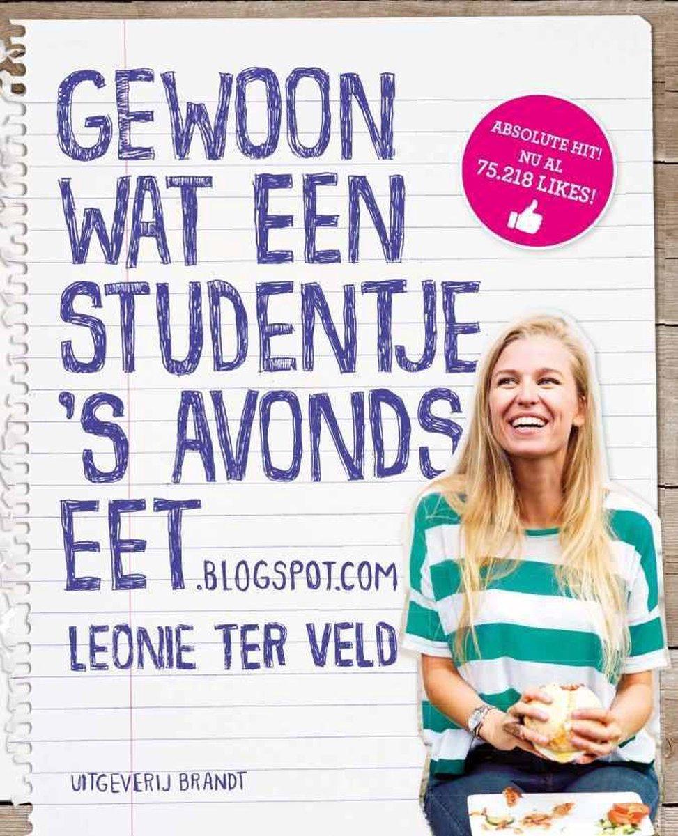 Gewoon wat een studentje 's avonds eet - Leonie ter Veld