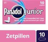 Panadol Kinderparacetamol 125 mg Junior Zetpillen - 10 st