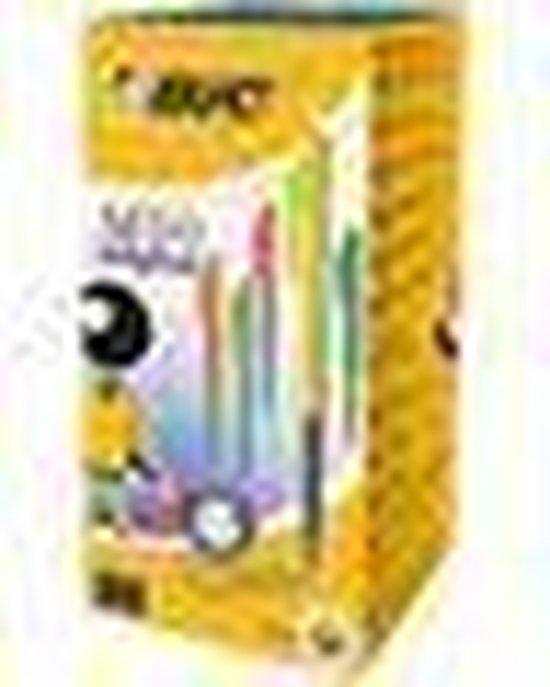 Bic balpen M10 Clic Colors doos van 50 stuks - BIC