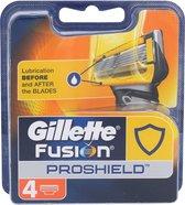 Gillette - Fusion Proshield - Scheermesjes - 4 Stuks