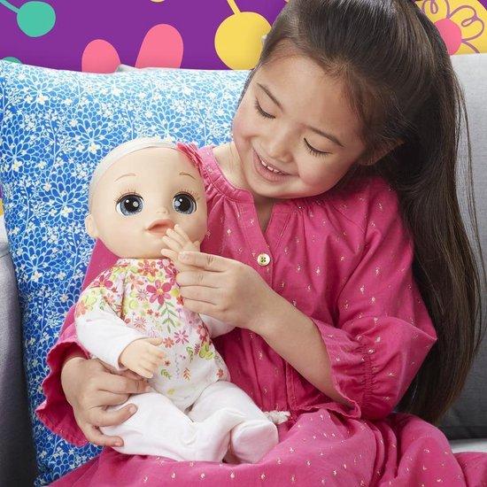Baby Alive Levensechte Baby - Interactieve babypop