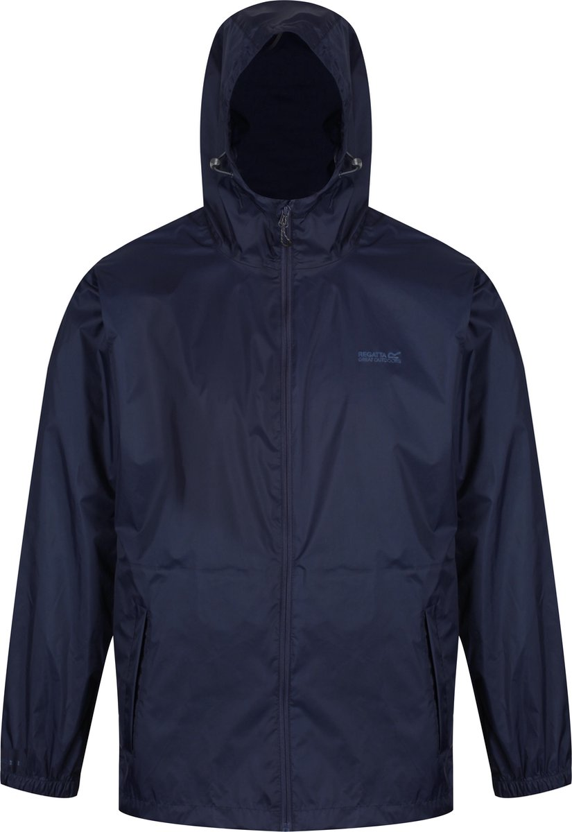 Regatta Pack-It II  Regenjas - Maat XXL  - Mannen - blauw