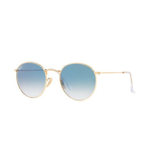 Ray-Ban RB3447N 001/3F Round Metal zonnebril – 50mm