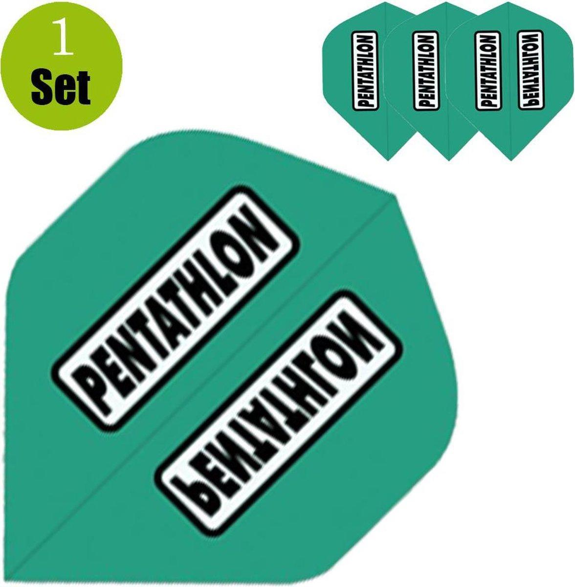 Pentathlon Dartflights - Jade- ()
