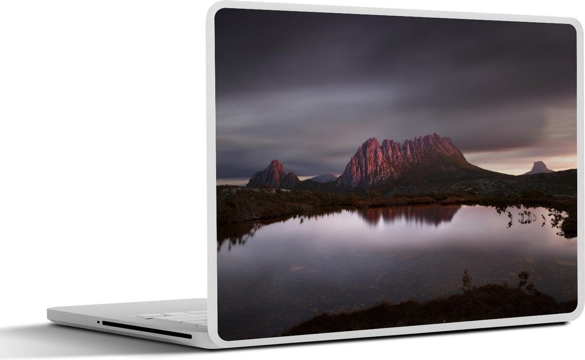 Laptop sticker - 17.3 inch - Cradle Mountain in Tasmanië