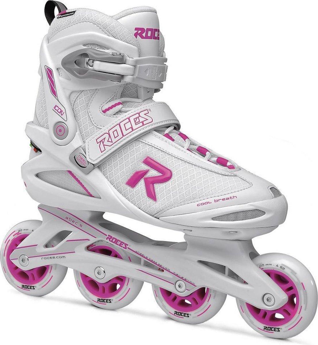ROCES Icon Women 80 Skates Women - 37 - Wit