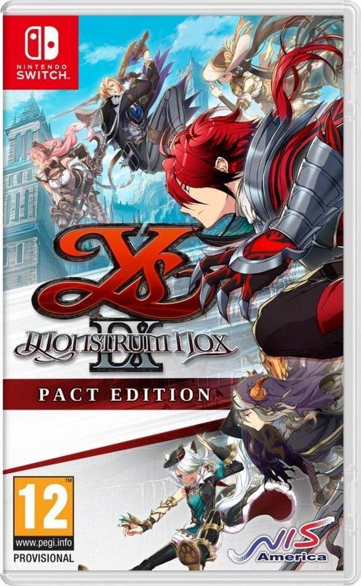 Ys IX Monstrum Nox Pact Edition – Switch