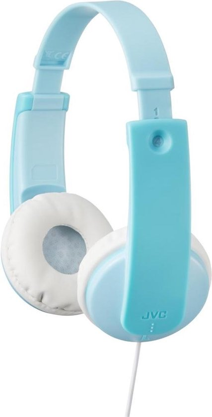 JVC HA-KD7 - On-ear kids koptelefoon - Blauw
