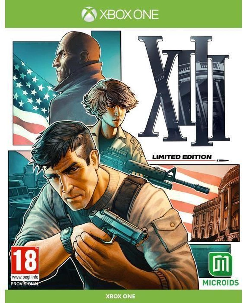 XIII – Xbox One & Xbox Series X Game Limited Edition