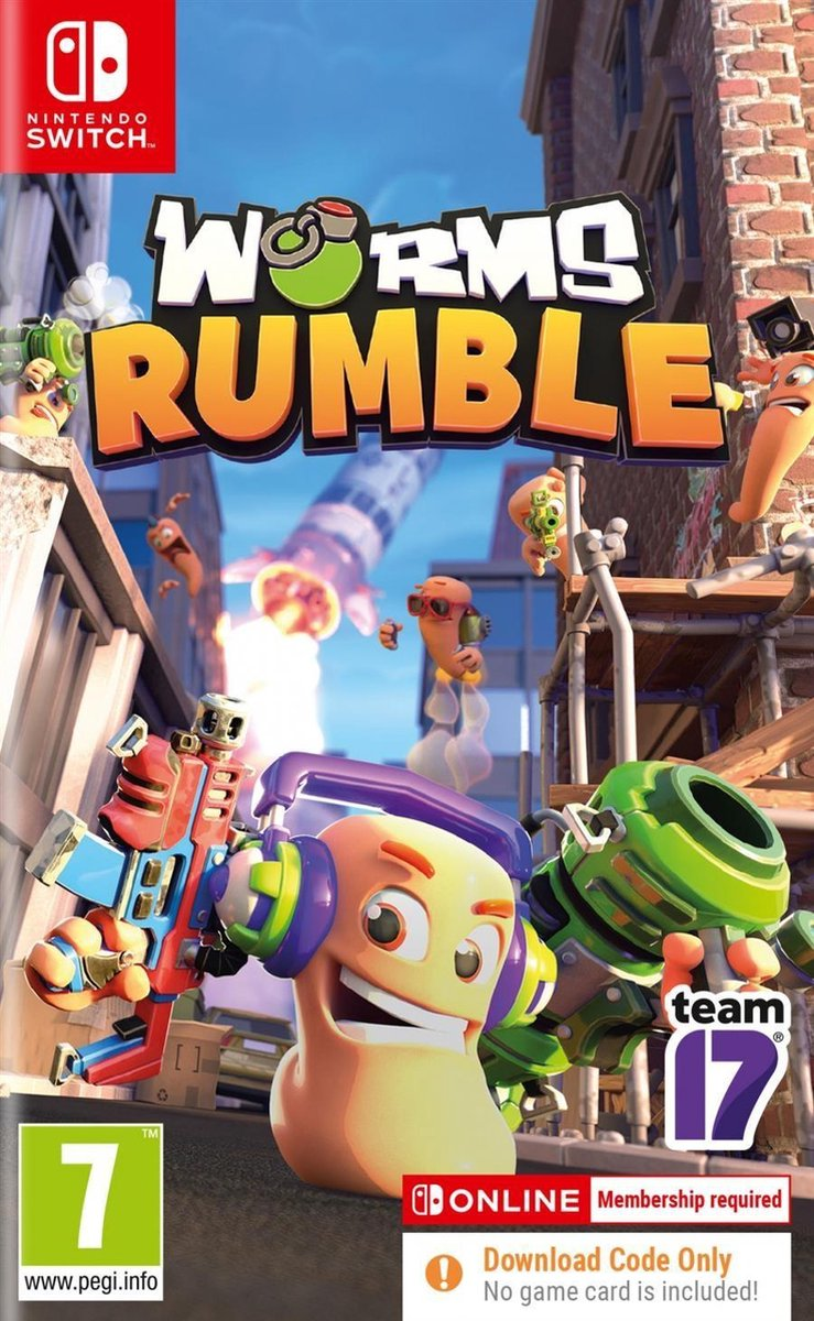 Worms Rumble – Nintendo Switch (Code in Box)