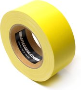 Gaffergear Gaffa tape 50mm x 25m geel