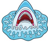 Yello Strandlaken Haai 150 X 140 Cm Blauw