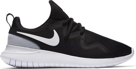 Nike Tessen Dames Sneakers - Schoenen - zwart - 39
