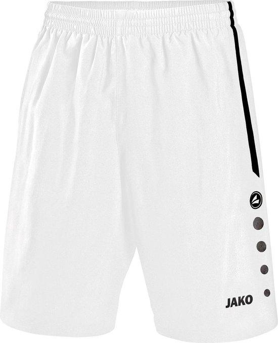 Jako Turin Short - Voetbalbroek - Jongens - Maat 152 - Wit