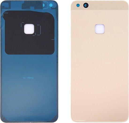 Let op type!! For Huawei nova Lite Battery Back Cover(Gold)