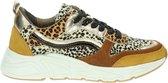 PS Poelman dames dad sneaker - Geel multi - Maat 38