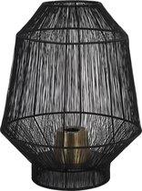Light & Living Tafellamp Ø30x38 cm VITORA mat zwart