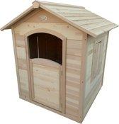 AXI Britt Speelhuis Naturel - 112 x 110 x 120 cm - FSC 100% Hemlock hout - Prefab