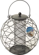 Duvo+ Silo Vogelvoederhuisje - Zwart - 28 cm x 28 cm x 28 cm