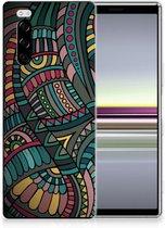 Sony Xperia 5 TPU bumper Aztec