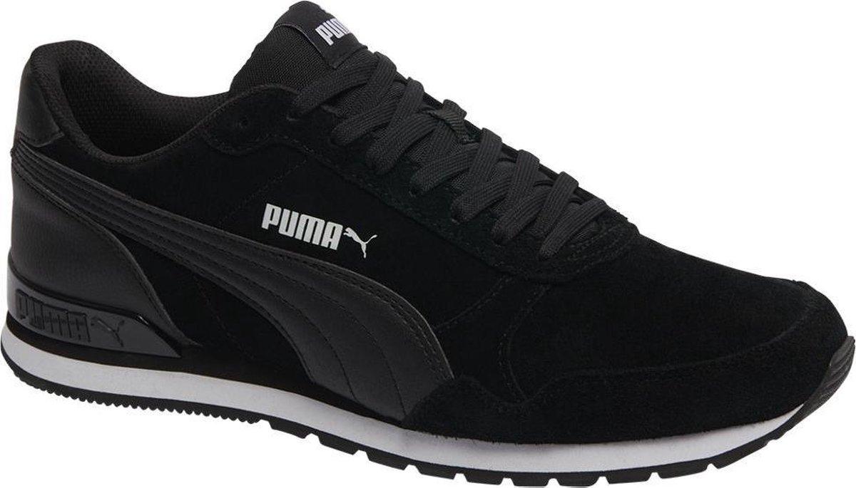 PUMA ST Runner v2 SD Sneakers Unisex - Puma Black-Puma Black - Maat 43