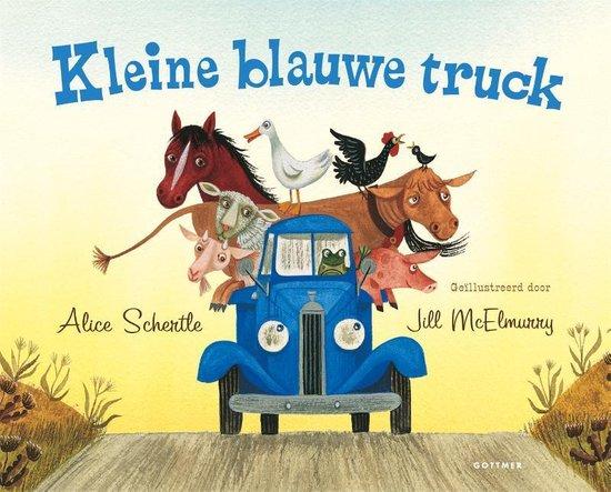 Boek cover Kleine blauwe truck van Alice Schertle (Hardcover)
